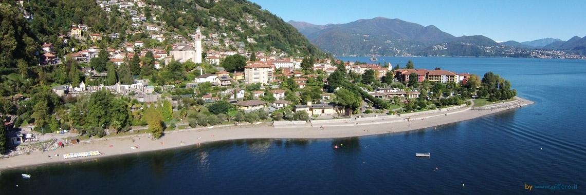 Cannero Riviera - Spiaggia