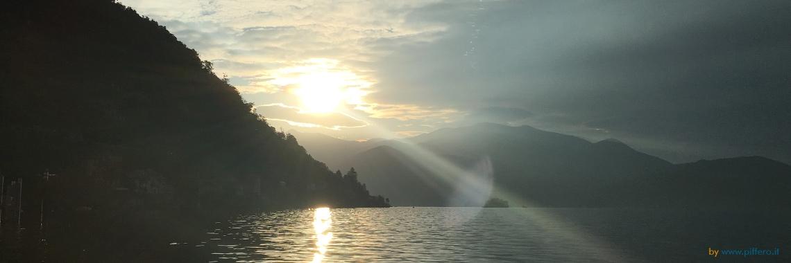 Sunrise on Lake Maggiore