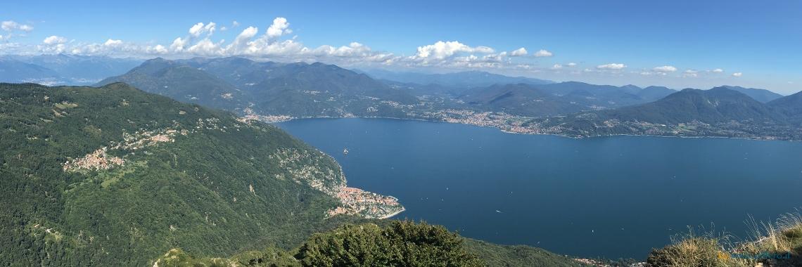 Panorama Cannero Riviera Trarego Viggiona