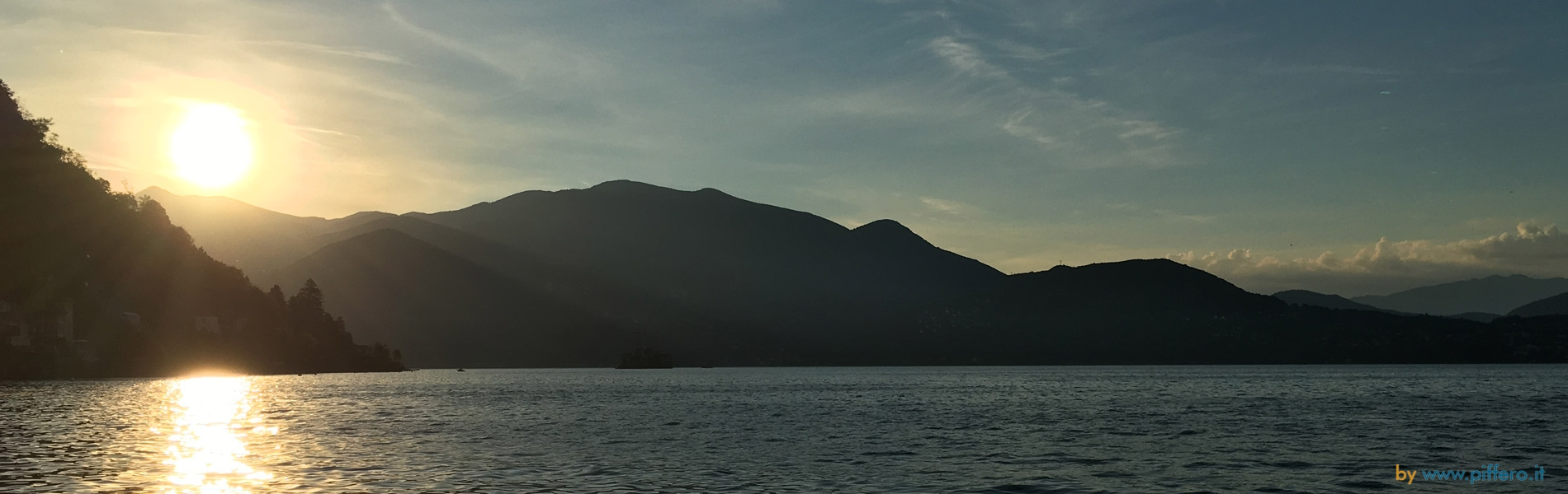 Sunrise on Lake Maggiore