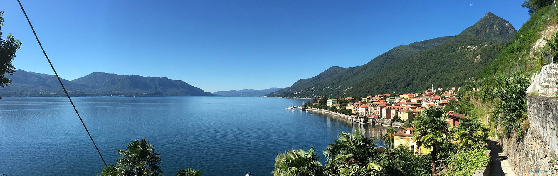 Panoramica Cannero Riviera