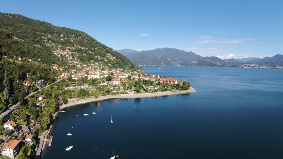 Cannero Riviera panorama