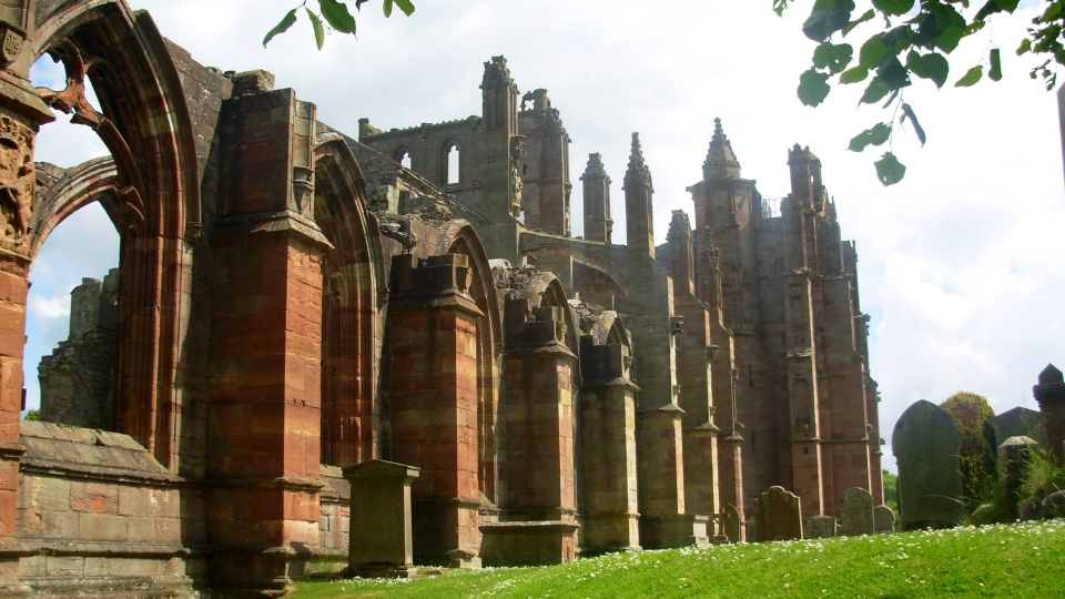 Fotogallery Alessandro Piffero Scozia - Melrose Abbey