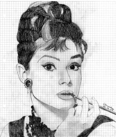 Ritratti - vip Audrey Hepburn