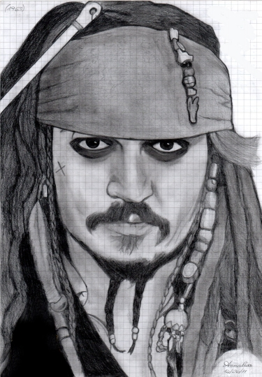 Ritratti - vip Capitan Jack Sparrow