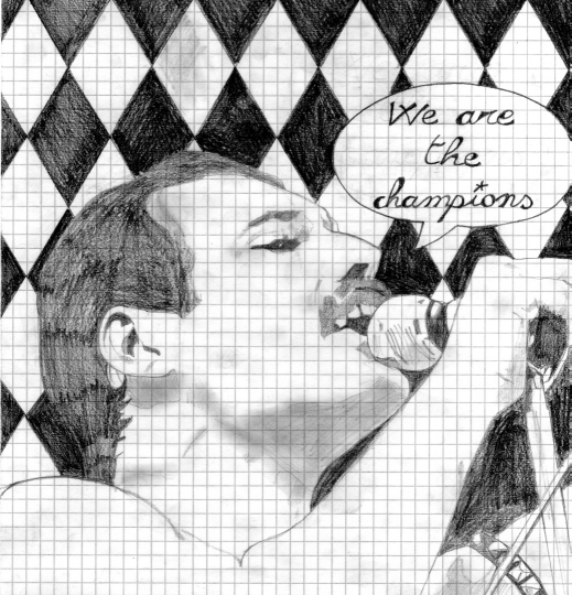 Ritratti - vip Freddie Mercury