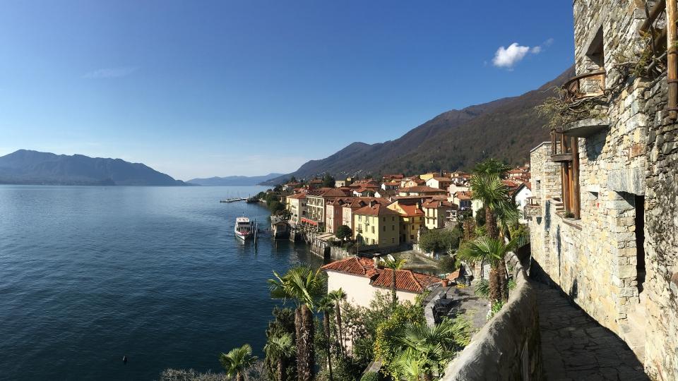 Cannero Riviera - Panorama