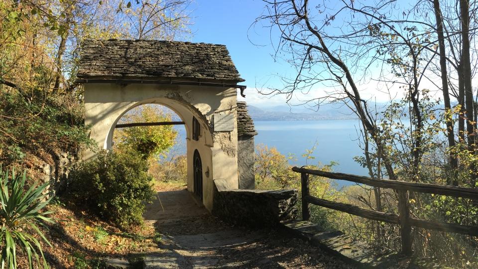 Cannero Riviera - Frazione Donego sentiero per Cannero