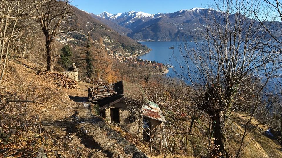 Fotogallery Alessandro Piffero Cannero Riviera - Frazione Donego sentiero per Cannero